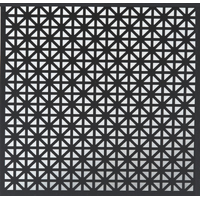 M-D 56000 Unionjack Metal Sheet, 0.02 in T, 2 ft L x 3 ft W, Perforated Aluminum