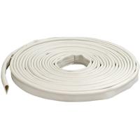 M-D 68676 Smoke Seal Door Gasket, 20 in L x 1/2 in W 1/4 in T, Silicone, White