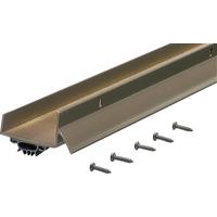M-D Ultra 69562 U-Shape Door Bottom with Vinyl Insert, Dry Cap, 48 in L x 1-3/4 in W