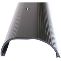 M-D Ultra 69749 Extra High Dome All Purpose Top Threshold, 36 in L x 1-1/4 in W x 4 in H, Aluminum