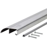 M-D Ultra 69694 All Purpose Bumper Threshold, 36 in L x 3-1/4 in W x 1 in H, Aluminum
