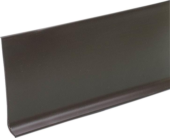 M-D 75465 Wall Base, 120 ft L x 4 in W, Vinyl, Brown