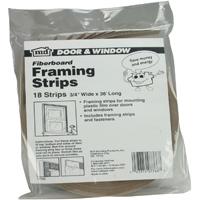 M-D 07766 Economy Framing Strip, 36 in L x 3/6 in W