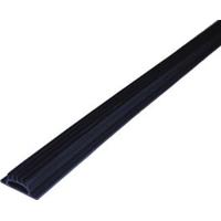 M-D 25756 Replacement Threshold Insert, 36 in L x 2 in W, Vinyl, Black