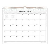Workstyle Wall Calendar, 14 7/8 x 11 7/8, Mint, 2020