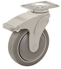 NEXT GENERATION CASTER, NYLON, 6 IN., DIRECTION LOCK, 325 LBS CAPACITY