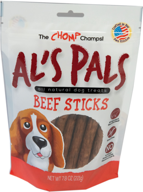 72372 7.8OZ BEEF DOG TREATS