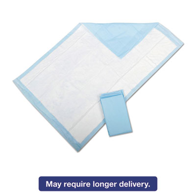 Protection Plus Disposable Underpads, 23 x 36, Blue, 25/Bag