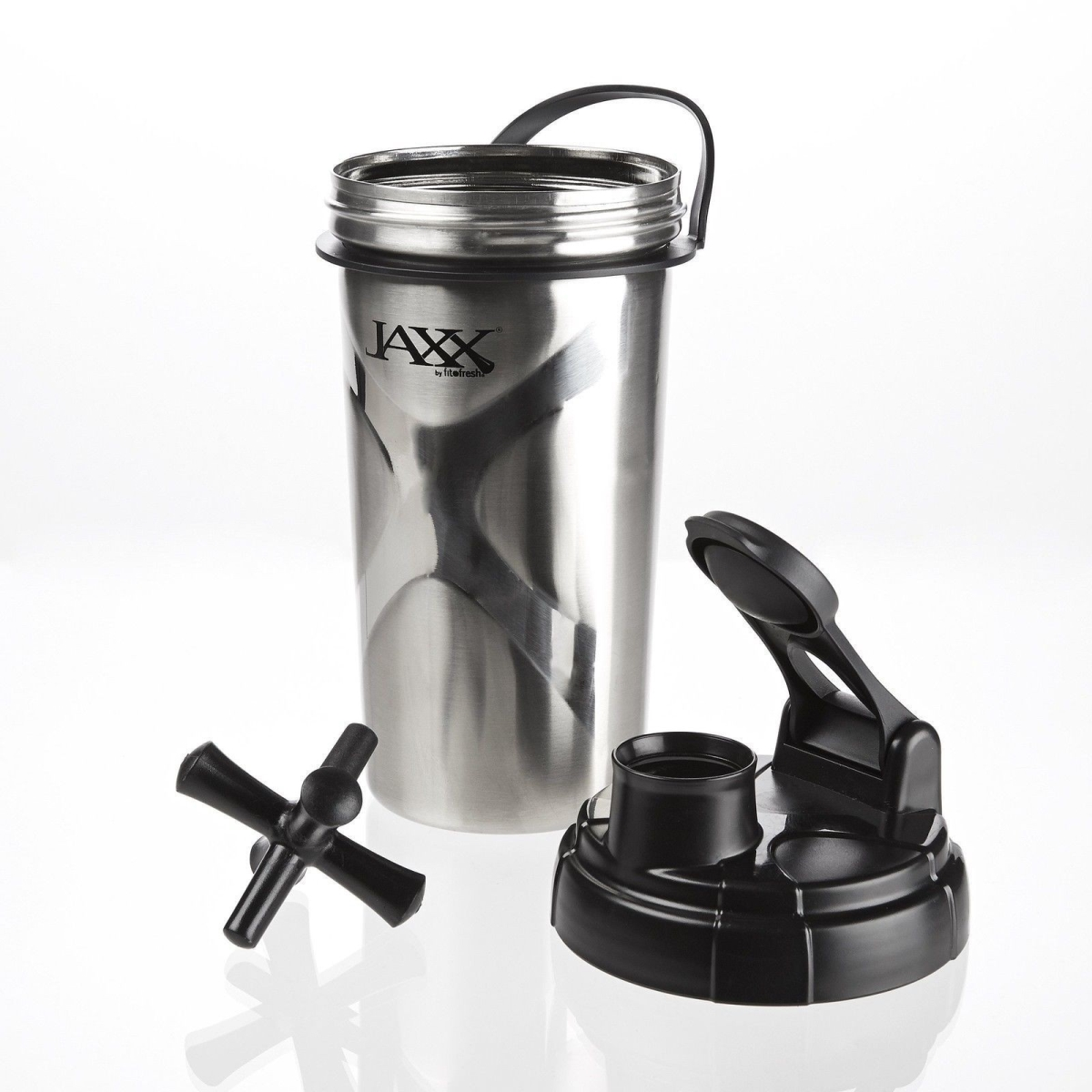 fIT & FRESH 784FF JAXX 24oz STAINLESS STEEL SHAKER CUP 2PC