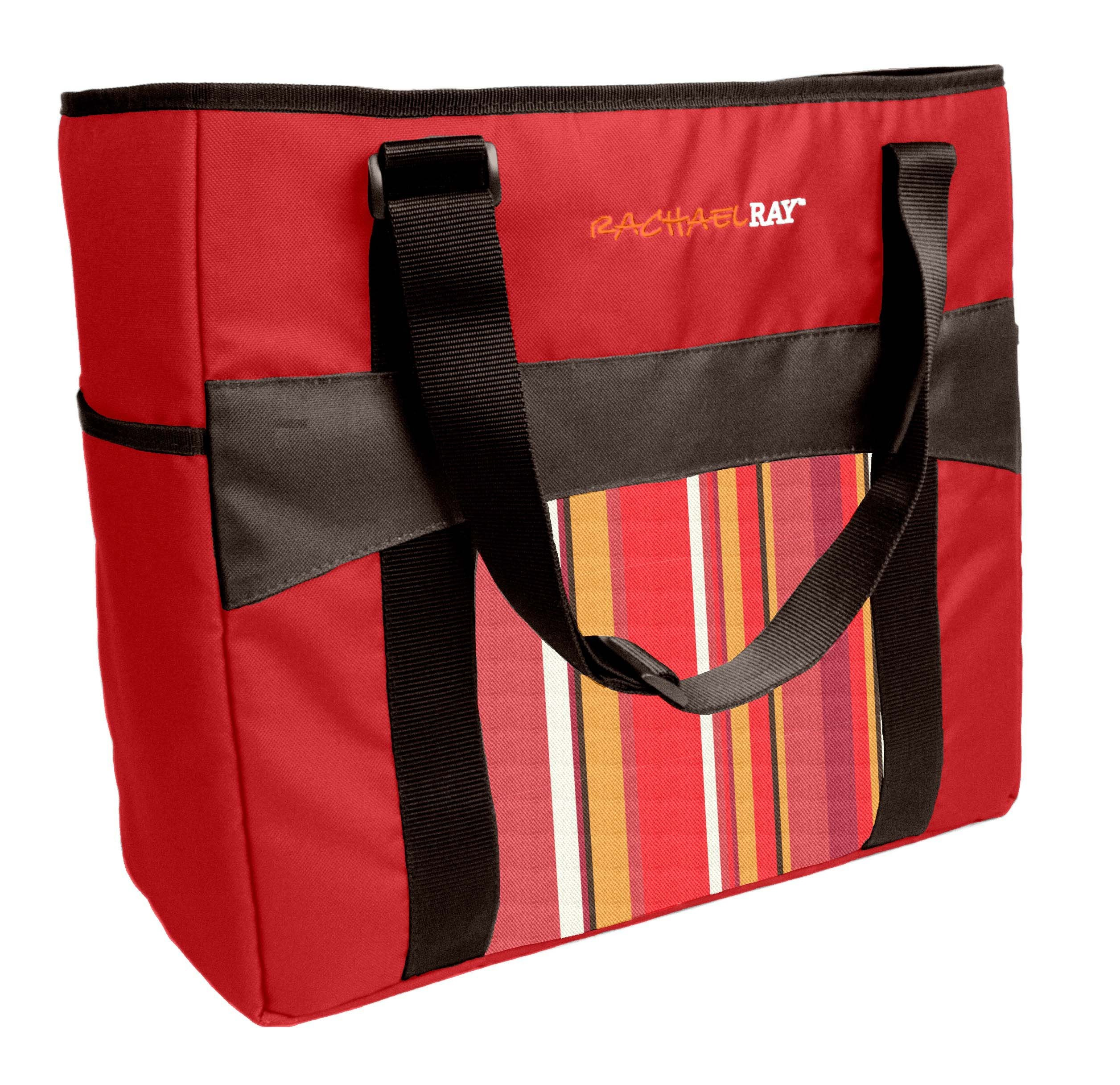 RACHAEL RAY 5070RR1635C RED CHILLOUT TO GO THERMAL TOTE