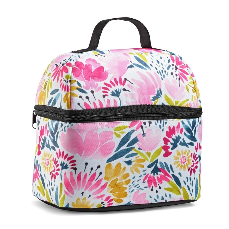 FIT & FRESH 7193FF2418 ALAMEDA INSULATED LUNCH BAG IN GARDEN