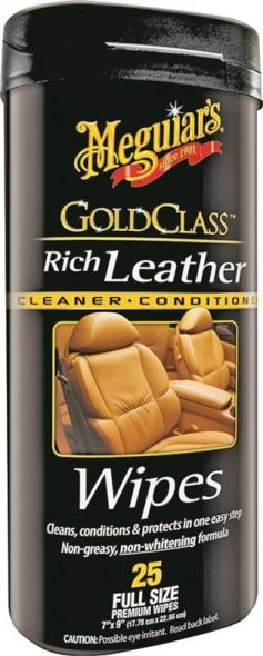 Gold Class G10900 Leather Wipe, Off White, Sweet