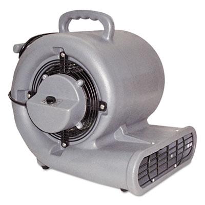 Air Mover, 3-Speed, 1/2hp, 1150rpm, 1500cfm