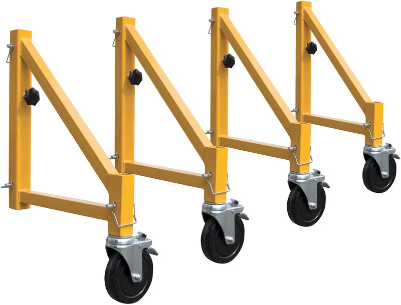 14? Scaffold Outriggers With Casters, Set of 4