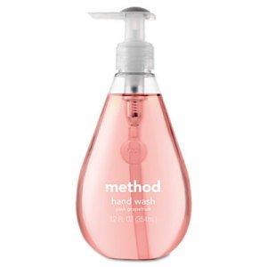 Gel Hand Wash, Pink Grapefruit, 12 oz Pump Bottle