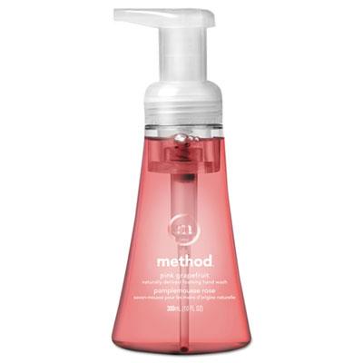 Foaming Hand Wash, Pink Grapefruit, 10 oz Pump Bottle