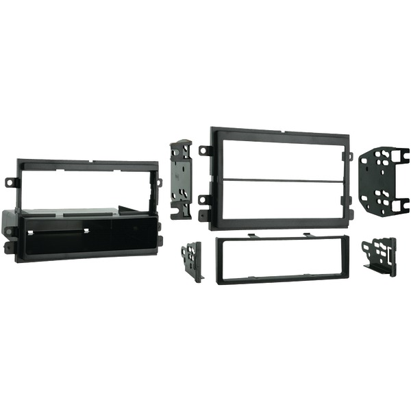 METRA 99-5807 2004-2010 Ford F150/Lincoln/Mercury Single- or Double-DIN Installation Kit