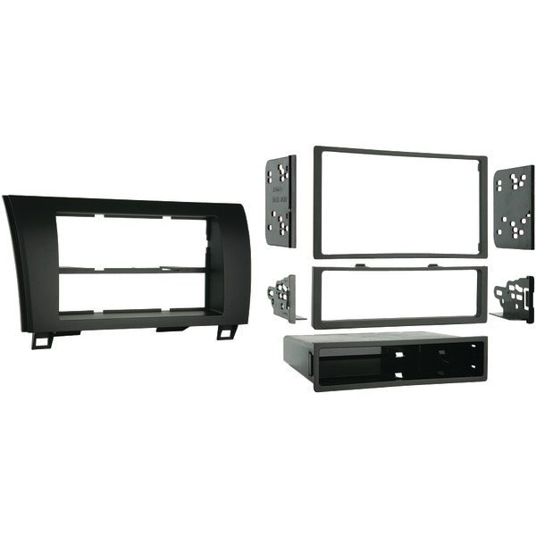 METRA 99-8220 2007 & Up Toyota Tundra Truck Single- or Double-DIN Installation Kit
