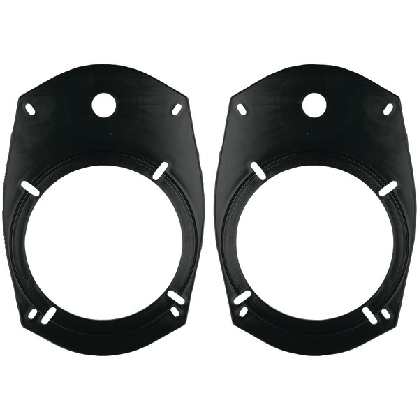 "METRA 82-6901 5.25""/6.5"" Universal Speaker Adapter Plates for 6"" x 9"" Opening"