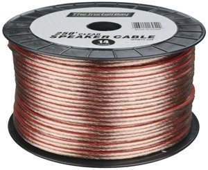 METRA 12GA Speaker Wire Clear 250 FT