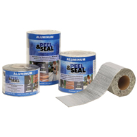 Peel & Seal 50004 Roofing Membrane, 4 in W x 33-1/2 ft L x 45 mil T, 100 sq-ft