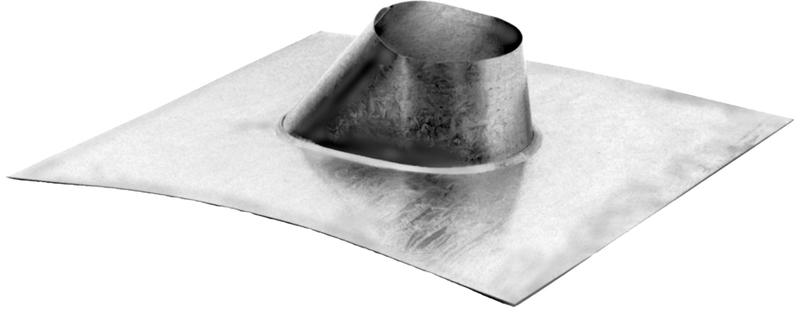 8 Inch Type B Gas Vent Adjustable Roof Flashing