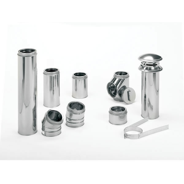 M&GDURAVENT 8' x 60' DuraTech Stainless Steel Chimney Pipe - 9609CF at Sears.com