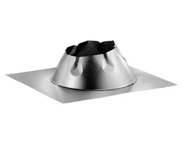 "8"" Duratech Flashing,flat Roof,Galvanized, Storm Collar Not Included"