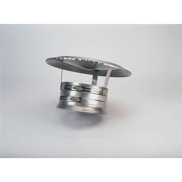 """10"""" Ventinox Hiflex Rain Cap, 304-alloy"""