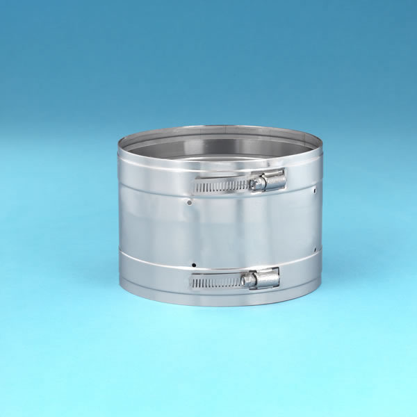 """10"""" Ventinox Coupler, 316-alloy, 2 Female Ends"""