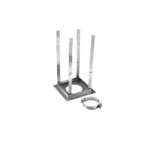 "8"" Type B Gas Vent Firestop Support, Square"