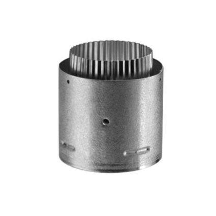 "4"" Pellet Vent Pro Adaptor, PVP Bottom To HS Flex Top"