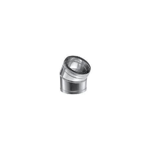 "10DCA-E30 10"" DuraVent DuraChimney II 30 Degree Elbow"
