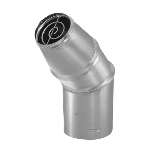 "3"" PelletVent Pro Stainless Steel Horizontal Round Cap - 3PVP-HC2"