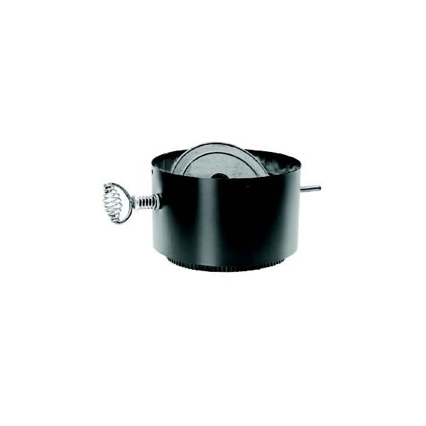 """Dura-Vent 6"""" DuraBlack Stovepipe Adaptor with Damper Section"""