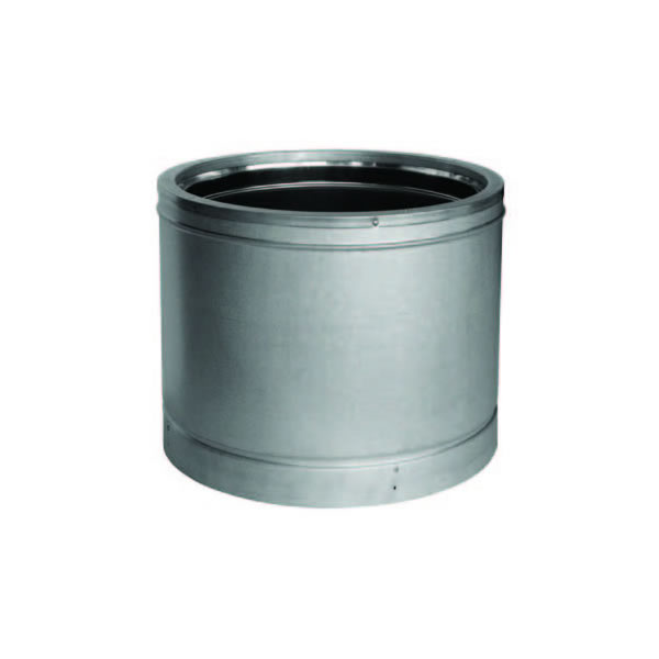 "10"" x 12"" Dura Vent Duratech Chimney Length, 430-alloy Inner Liner, Galvalume Outer Wall"