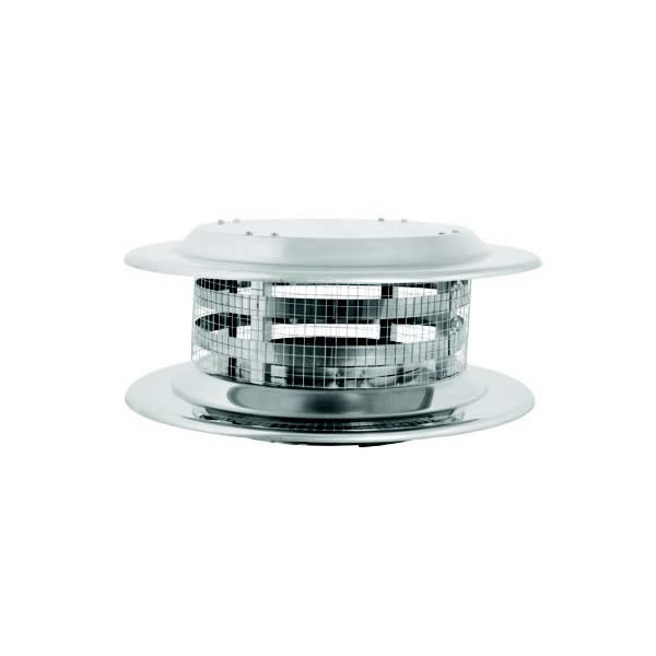 "10"" Duratech Rain Cap With Spark Arrestor"
