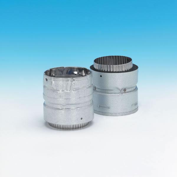 "3"" Pellet Vent Pro Adaptor, HS Flex Bottom To PVP Top"