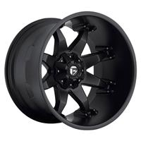 D509 Octane Deep, 20x12 with 8 on 6.5 Bolt Pattern - Black