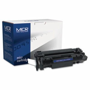 Compatible with Q6511AM MICR Toner, 6,000 Page-Yield, Black