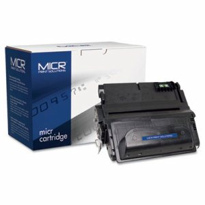 Compatible with Q1338AM MICR Toner, 12,000 Page-Yield, Black
