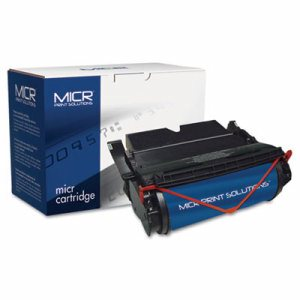 Compatible with 522LM Extra High-Yield MICR Toner, 30,000 Page-Yield, Black