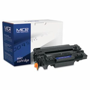 Compatible with CE255AM MICR Toner, 6,000 Page-Yield, Black