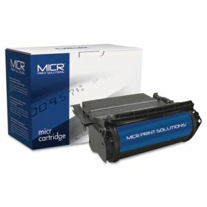 Compatible with T610 High-Yield MICR Toner, 16,000 Page-Yield, Black