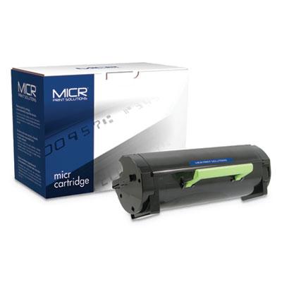 Compatible 50F0HA0/50F1H00 (500HA/501H) High-Yield MICR Toner, 5000 Pg-Yld, BK