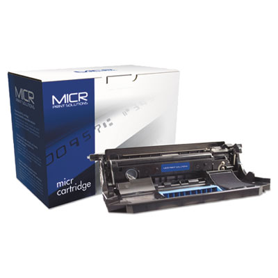 Compatible 50F0Z00 (MS310) MICR Drum, 45000 Page-Yield, Black