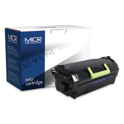 Compatible 52D0HA0/52D1H00 (520HA; 521H) High-Yield MICR Toner, 25000 Pg-Yld, BK