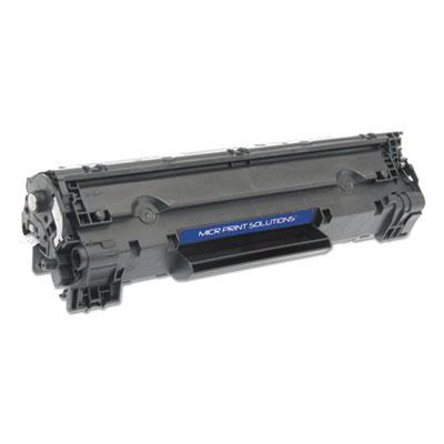 Compatible CF283A(M) (83A) MICR Toner, Black