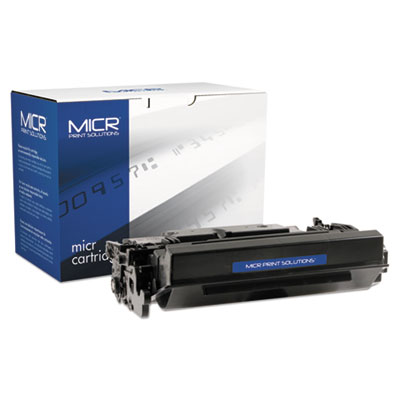 Compatible 87XM High-Yield MICR Toner, 18000 Page-Yield, Black