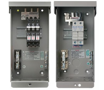 MIDNITE, STRING COMBINER, MNPV-3, 3-STRING (150V BREAKERS) OR 2-STRING (FUSES), 60A/600VDC MAX, NEMA3R